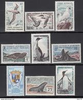 1959-63  Yvert Nº 12 / 17  /*/, - Tierras Australes Y Antárticas Francesas (TAAF)