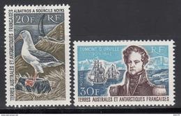 1968-69 Yvert Nº 24 / 25  /*/, - Tierras Australes Y Antárticas Francesas (TAAF)
