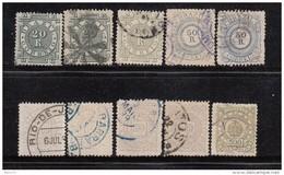 1884 - 1888   VARIOS  SELLOS - Brasil