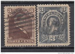 1887 - 1994    YVERT  Nº  42 , 45 - Newfoundland