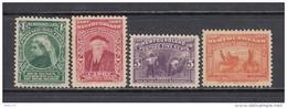 1897    YVERT  Nº  48 , 49 , 52 , 54  / * / - 1865-1902