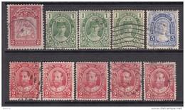1908 - 1911  VARIOS  SELLOS - 1908-1947