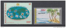 2001 AEREO   YVERT N  200 , 203     /  ** / - Wallis Y Futuna