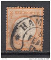 1872    MICHEL  Nº 18   ,  Hufeisenstempel , - Germania