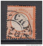 1872    MICHEL  Nº 18   ,  Hufeisenstempel , - Usati