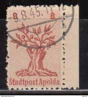 Lokalausgabe Apolda Mi. 3 , Geprüft - Zone Soviétique