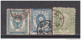 1875    YVERT  Nº 54 , 56 - Japon