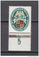 1926  MICHEL  Nº   398    / ** / - Germany