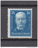 1927  MICHEL  Nº   405    / ** / - Germany