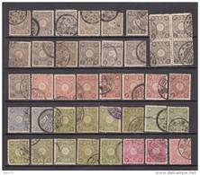 1899 - 1902   VARIOS  SELLOS - Japon