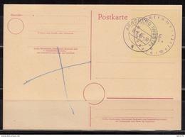 Lokalausgabe , Postkarte Arnsberg  18.8.45 , Mi Nº 1 - Zone Soviétique