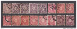 1906 - 1907   VARIOS  SELLOS - Japon