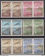 1947   MICHEL Nº 515 I II / 520 I II , MNH - 1945-1992 República Federal Socialista De Yugoslavia