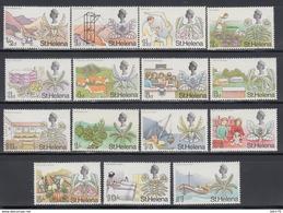 1968   YVERT Nº 195 / 209    /**/ - Isla Sta Helena