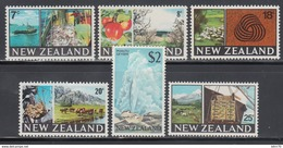1968-1969  YVERT Nº 476 / 481    /**/ - Nuova Zelanda