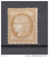 1873  YVERT  Nº  55   / * / - 1871-1875 Cérès
