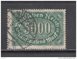 1922   MICHEL  Nº  256 C     -- Geprüft  -- - Duitsland