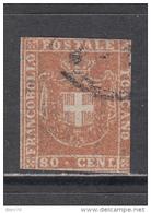 1859   Sassone  Nº  22   ,  YVERT  Nº  22 - Toscana