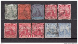 1905 - 1909   VARIOS  SELLOS - Trindad & Tobago (...-1961)