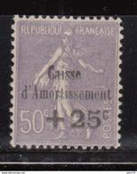 1929   YVERT Nº 276   MH - Nuevos