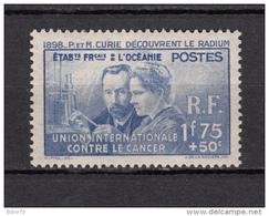 1938      YVERT  Nº   127    / * / - Oceanía (1892-1958)