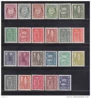 1962 - 1970    VARIOS  SELLOS    / * / - Noruega