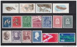 1970    VARIOS  SELLOS     / * / - Noruega