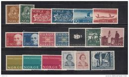 1963    VARIOS  SELLOS     / * / - Noruega