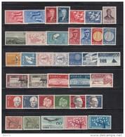 1955 - 1962    VARIOS  SELLOS     / * / - Noruega
