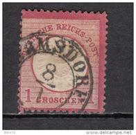 1872   MICHEL  Nº  19 - Deutschland