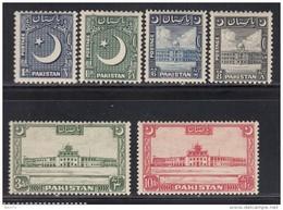 1950  VARIOS  SELLOS    / * / - Pakistán
