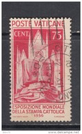 1936   YVERT  Nº  76 - Vatican