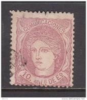 1870   EDIFIL   Nº 105 - Gebruikt