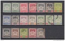 1911 - 28  VARIOS  SELLOS - Kelantan