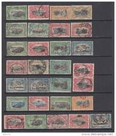 1909 - 1921  VARIOS SELLOS - 1884-1894 Precursores & Leopoldo II