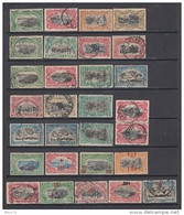 1909 - 1921  VARIOS SELLOS - Congo Belga