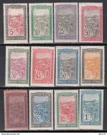 1922-26  Yvert Nº 131 / 143 (sin 133)  /*/ - Madagascar (1889-1960)