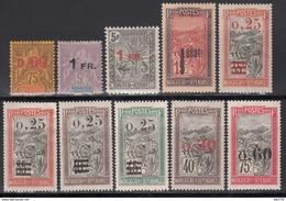 1921  Yvert Nº 122 / 130  /*/ - Nuevos