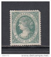 1867  EDIFIL  Nº 19 - Télégraphe