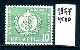 SVIZZERA - HELVETIA - Year 1957 - Viaggiato - Traveled - Voyagè - Gereist. - Servizio
