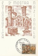 1970 Asti ITALY National PHOTOGRAPHY EXHIBITION EVENT COVER Card Camera Postcard Stamps Film - Photography