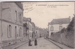 QUESTEMBERT- Cp N&b - Neuve - La Poste Rue Neuve  - Prix Départ 1.50 € Sans Réserve - Visitez Mes Autres Ventes -EF - Questembert