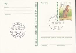 Austria Republik Osterreich POSTKARTE 1995 STORIA POSTALE S 5,50  FINLANDIA '95. - Interi Postali