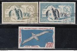 T.A.F. Aereos 1956 - 1959 Yvert Nº 2 / 4 - Tierras Australes Y Antárticas Francesas (TAAF)