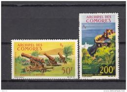1967     YVERT  Nº  18 / 19   / * / - Isla Comoro (1950-1975)