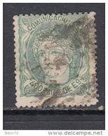 1870  EDIFIL  Nº 110 - Gebruikt