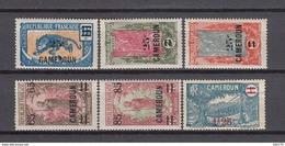 1924 - 1926   YVERT  Nº 101 / 105 , 133 ,   / * / - Camerún (1915-1959)