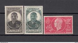 1944 - 1945   YVERT  Nº 265 , 274 / 275 ,   ** / * - Unused Stamps