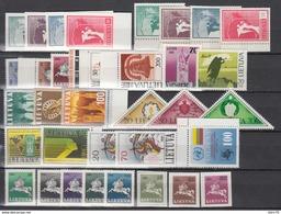1990 - 1992 LOTE DE SELLOS NUEVOS ,  /**/ - Litouwen