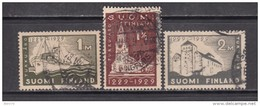 1929   YVERT  Nº    136 / 138 - Finlandia
